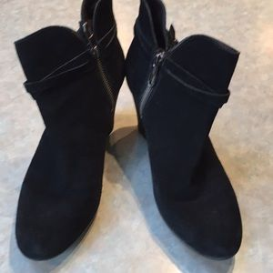 UGG black suede booties